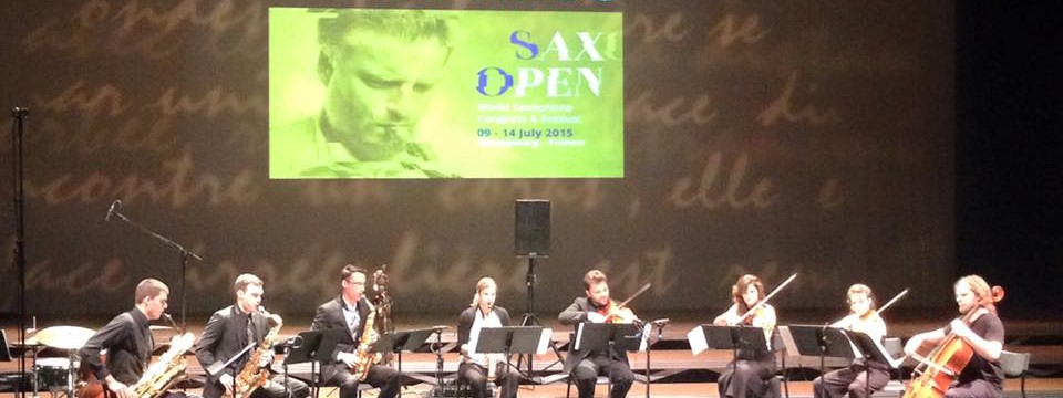 "World Saxophone Congress - ""Sax and Strings"""